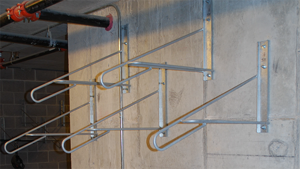 Bike Racks Wall Mounted to Concrete