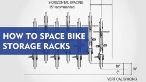 Bike Storage Racks Spacing Blog Teaser Image