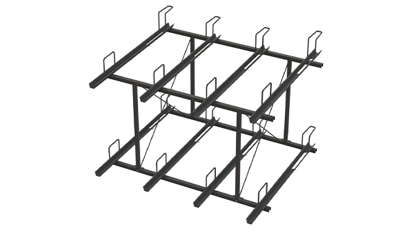 Bike Tier Two Tier Bike Storage Rack