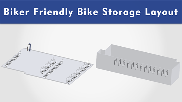 Biker Friendly Bike Storage Layouts