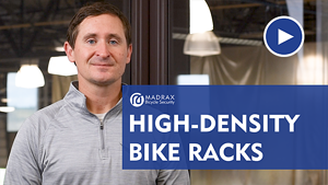 High Density Bike Parking Racks Video Thumbnail