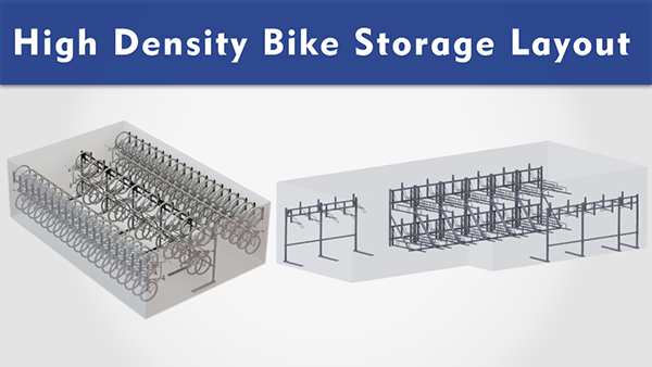 High Density Bike Storage Layouts
