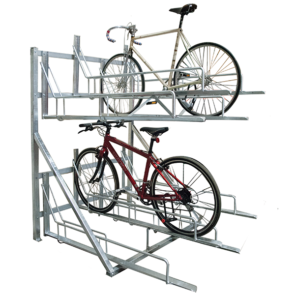 Two-Tiered-Horiztonal-Bike-Storage-Rack
