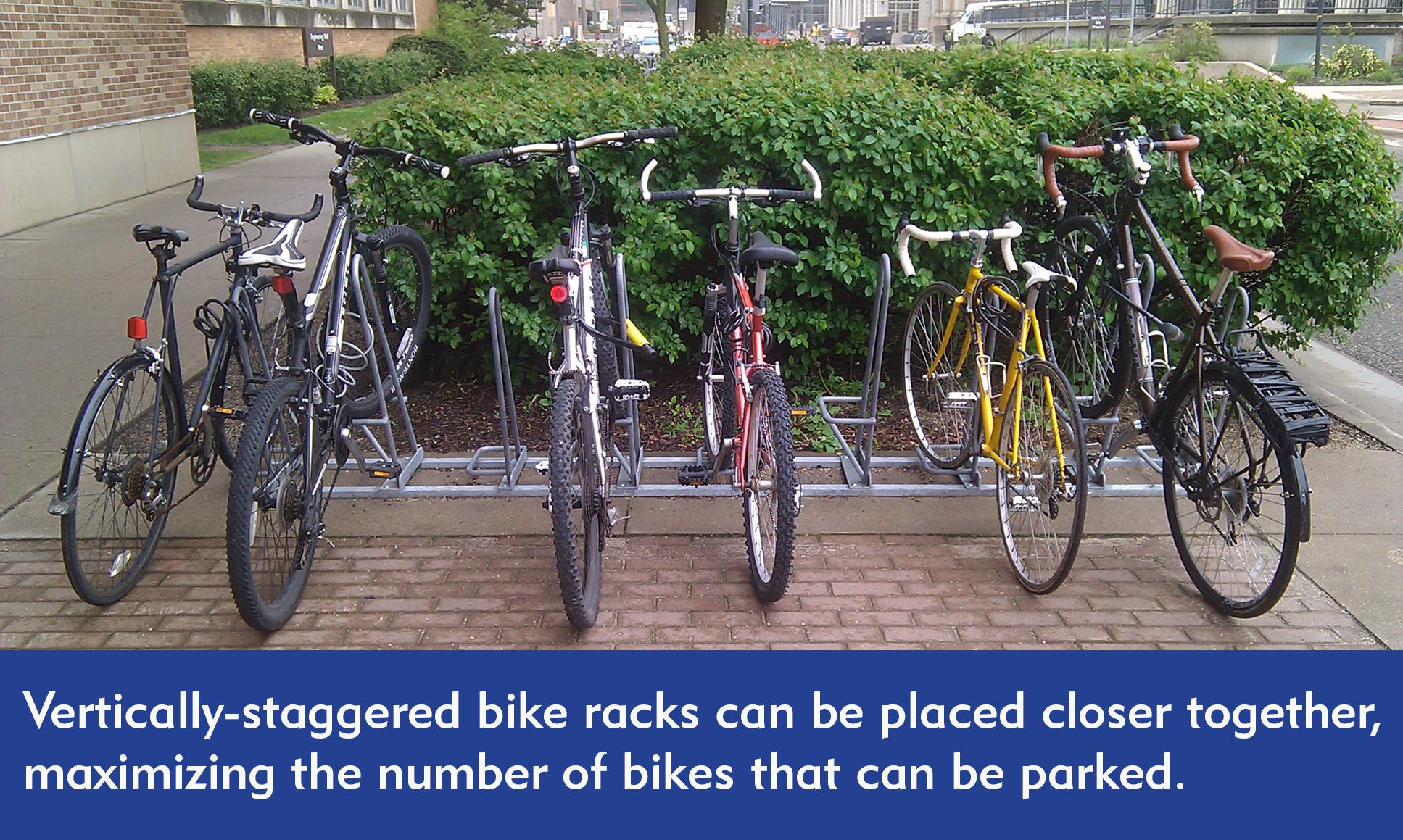 Vertically-Staggered-Bike-Rack