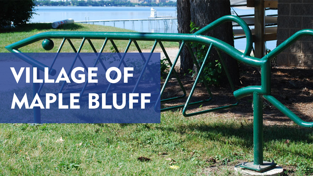 Village-of-Maple-Bluff-Custom-Bike-Rack-Feature-Image