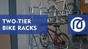 Two Tier Bike Rack Thumbnail 2