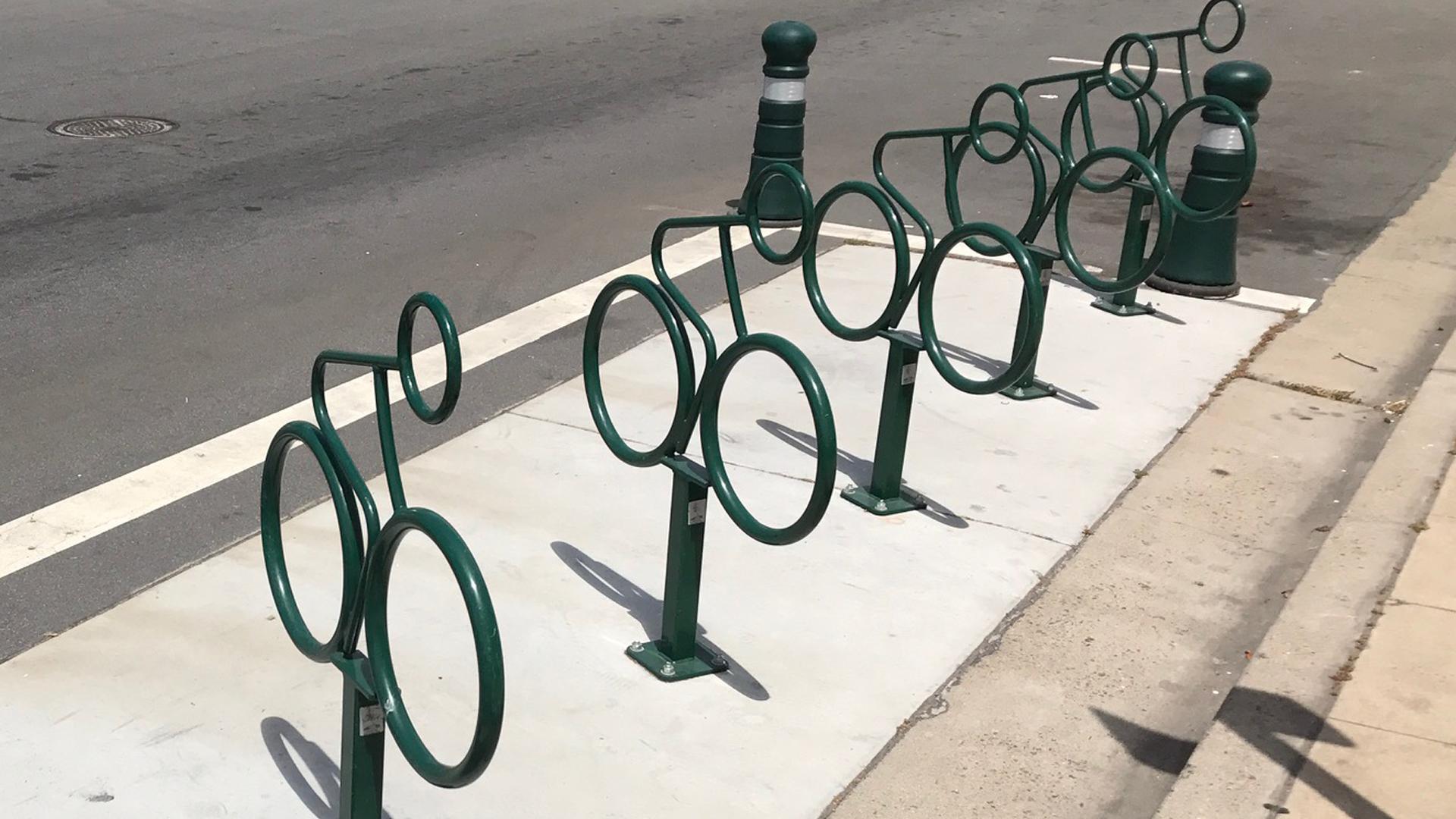 Advocate Mini Bike Rack