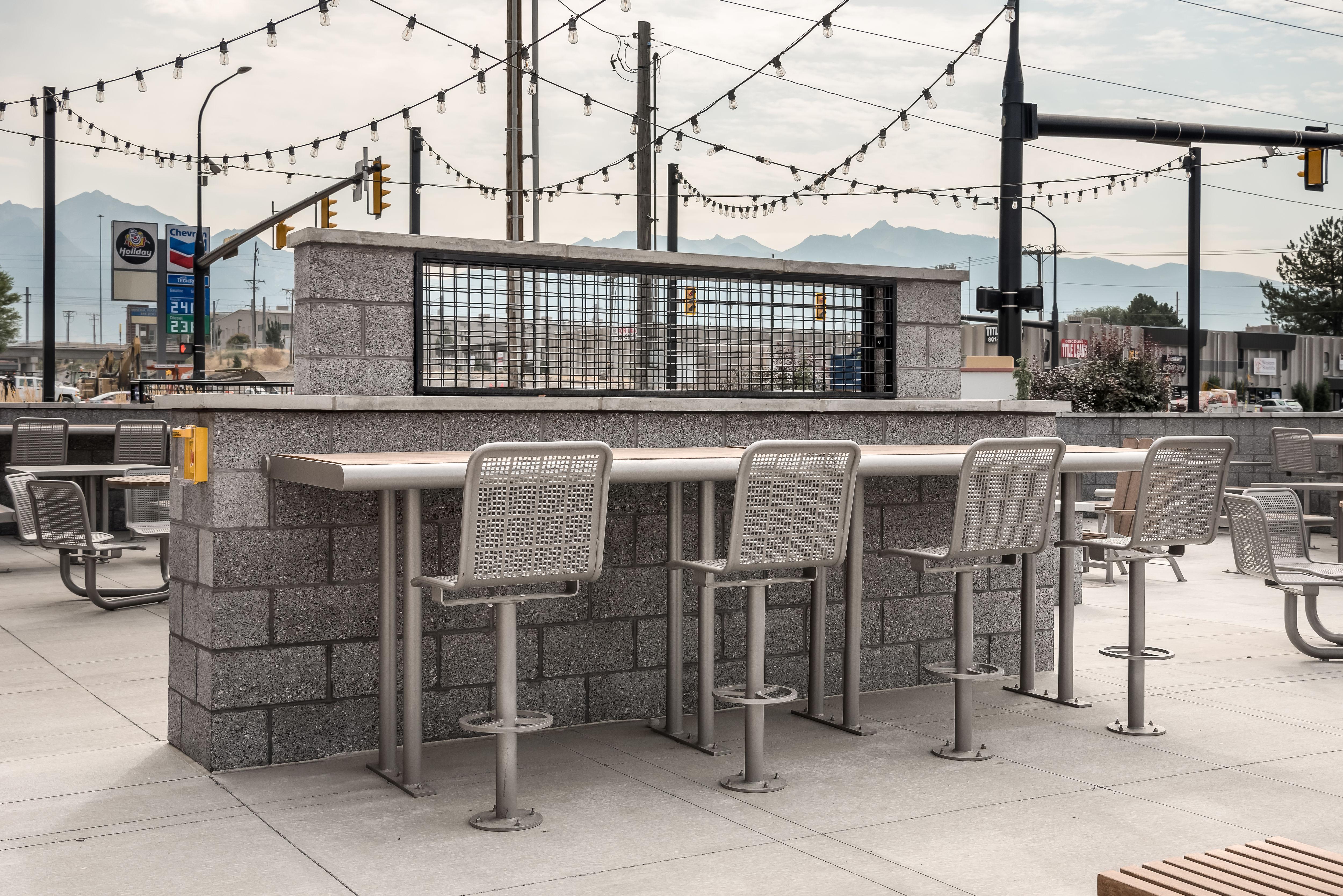 State Street Individual Bar Stool